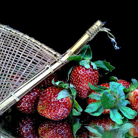Strawberry  by Asif Bora - Instagram & Mobile Other