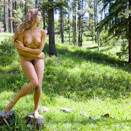 Forest Flora by Ian Centric - Nudes & Boudoir Artistic Nude