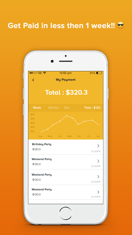 Tuurnt: Find Party Nearby, Throw Party & Earn Cash- screenshot