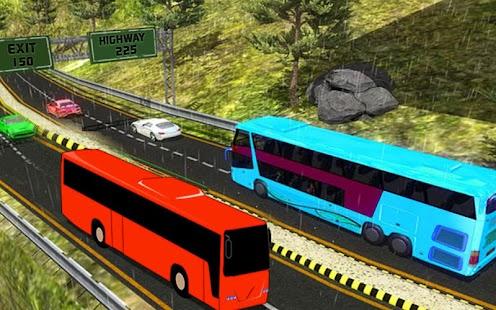 Mega Bus Simulator 2017 New Off-Road Bus 3d Games - náhled