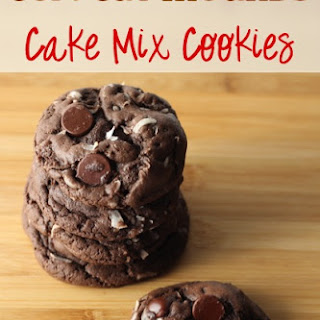 Copycat Mounds Cake Mix Cookies Recipe!