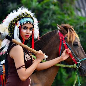 Western girl by Gandi Tan - People Fashion