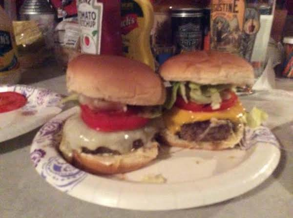 Hubby's Favorite Burgers Recipe