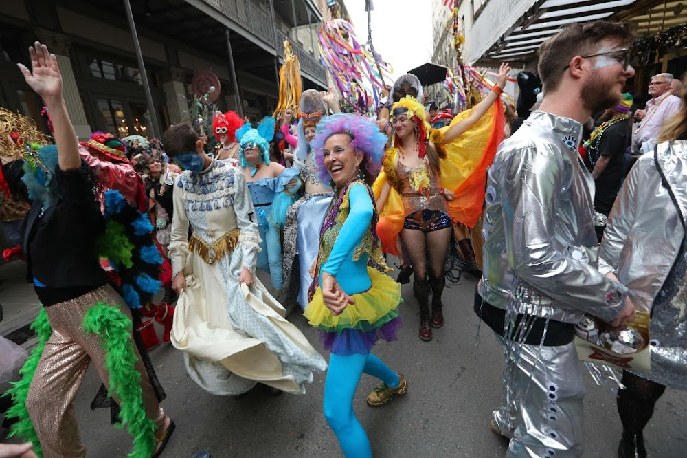 How the coronavirus partied at the New Orleans Mardi Gras