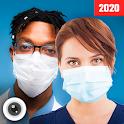 Mouth Mask - Medical Surgical mask Photo Editor icon