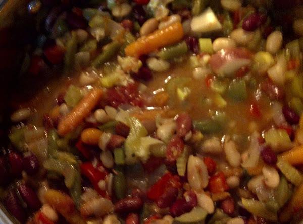 Chunky Garden Vegetable Soup Recipe