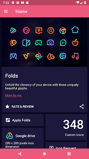 Folds - Icon Pack 이미지[4]