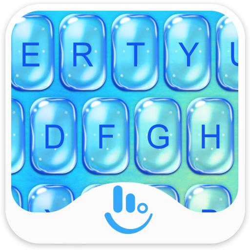 Cool Summer Water Keyboard