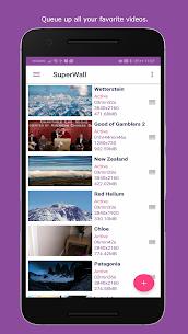 SuperWall Video Live Wallpaper v11.1.0 [Paid] APK 1