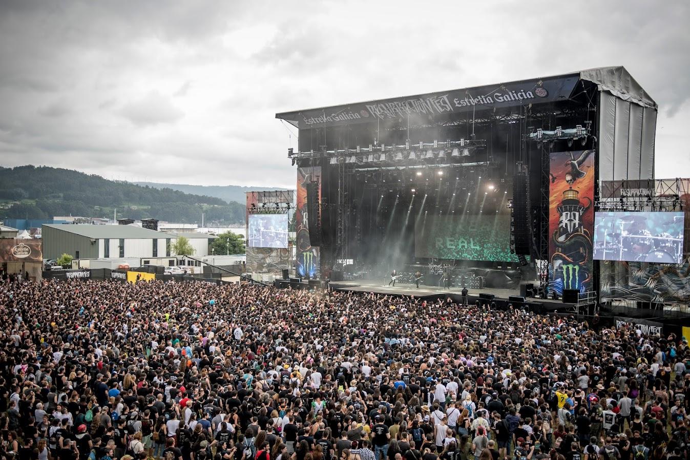 Megadeth Resurrection Fest