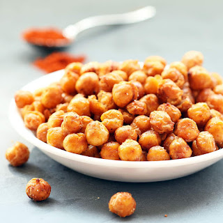 Roasted Chipotle Chickpeas (Gluten-free, Vegan / Plant-based).