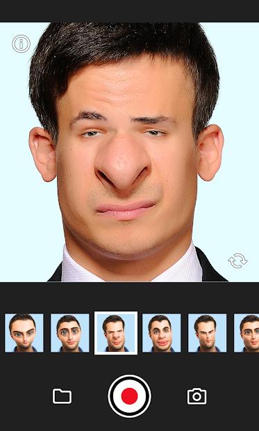 Face Warp Android App Screenshot