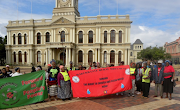 Led by Makukhanye Rural Social Movement, Inyanda National Land Movement and Rural Women's Assembly, farm workers and farm dwellers marched in Port Elizabeth to deliver a petition to officials at the department of rural development and land reform on Friday.