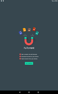 FuTorrent Screenshot