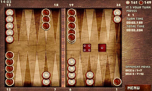 Backgammon with 16 Games- screenshot thumbnail