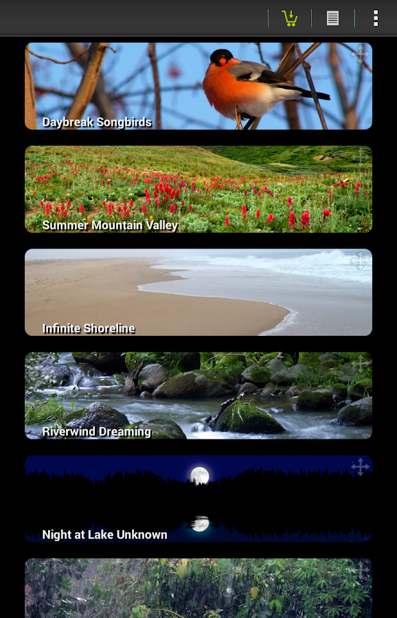 Naturespace: Sleep Relax Focus- screenshot
