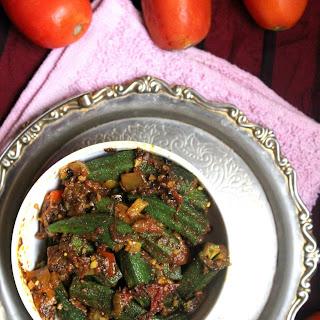 Punjabi Style Bhindi Masala Recipe|Punjabi Style okra fry.