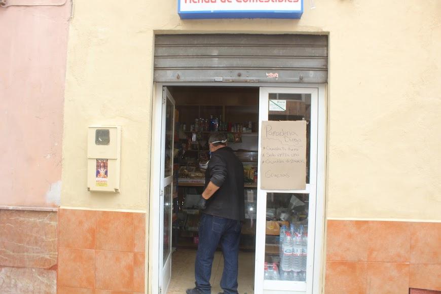 Panadería calle Real, la Cuatro Calles.