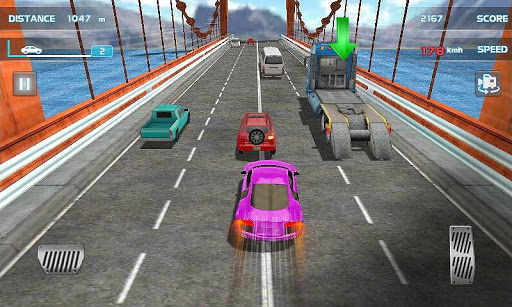 Turbo Driving Racing 3D  captures d'écran 2