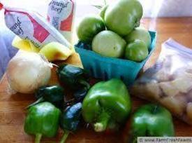 Green Tomato Garlic Chili Recipe