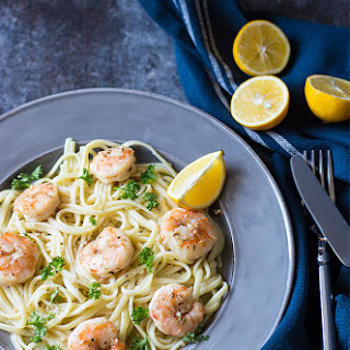Easy Shrimp Scampi.