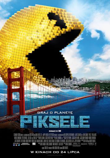 Polski plakat filmu 'Piksele'