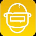 ازالة العشب و ثبات السلاح و منضور ايباد Vector icon