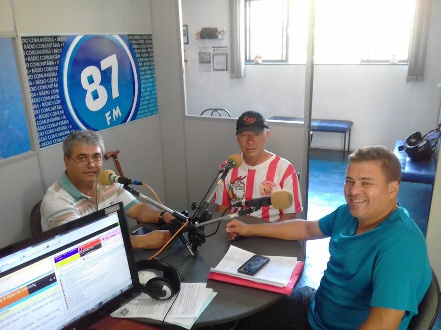 Donacio Silva, Carlos Militão de Melo e Sergio Borges