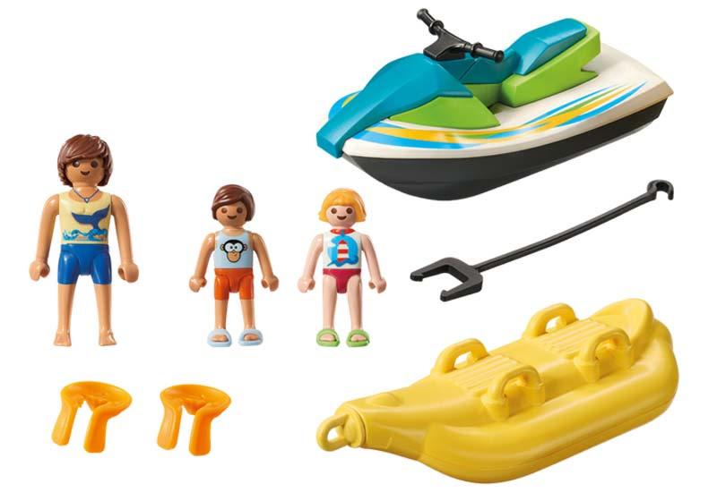 Contenido real de Playmobil® 6980 Moto de Agua con Banana