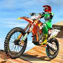 Highway Bike Racing City Stunts 2020 icon