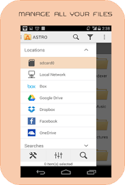 File Manager - ASTRO Screenshot 1