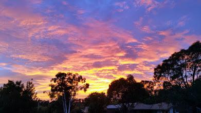 Photo: Early sunrise heralded a good day & walk