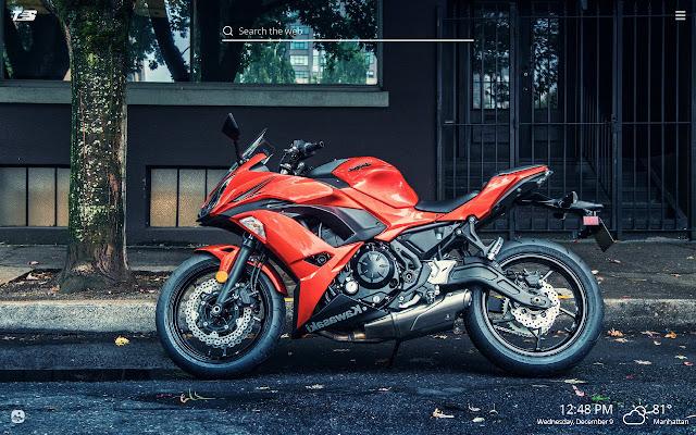 Kawasaki Ninja HD Wallpapers New Tab Theme