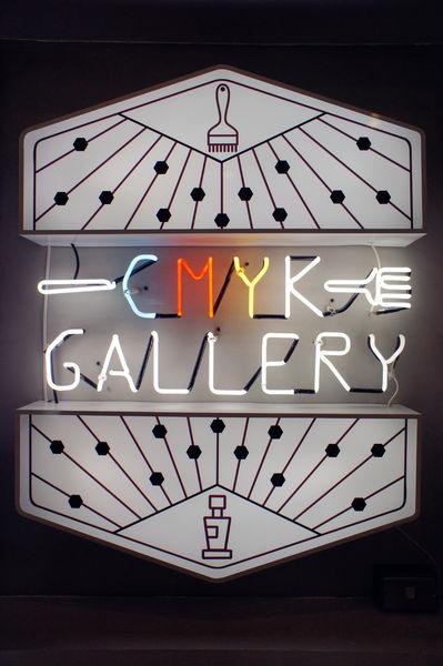 CMYK GALLERY|結合畫畫、咖啡、餐廳及畫廊的空間