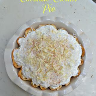 Coconut Cream Pie #SundaySupper