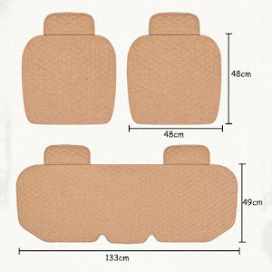 Set huse de protectie pentru scaunele auto, Crem