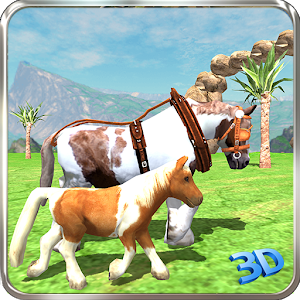 Pony Horse Simulator Kids 3D for PC and MAC