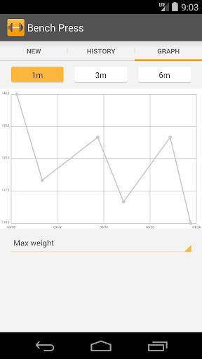 Simple Workout Log PRO Key 1.1 screenshots 8