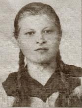 Photo: Genowefa Bukowska -zastrzelona przez niemców dn.23.01.1945 r.