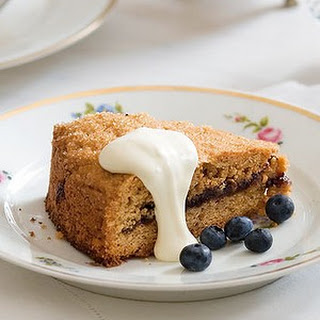 Blueberry And Hazelnut Shortcake