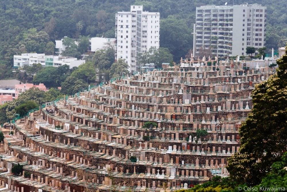 Pok Fu Lam, cemitério inusitado de Hong Kong