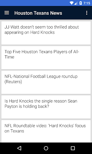 BIG Houston Football ニュース