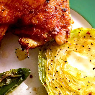 Spicy Cabbage & Onion Steaks
