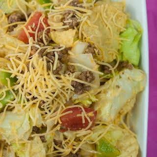 Cold Taco Salad.