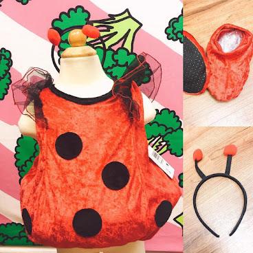[🎃萬聖節要來了]美國小甲蟲連身裙