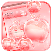 Bright Rose Pink Apple Theme Android APK Download Free By Theme Skin Emoji Andriod