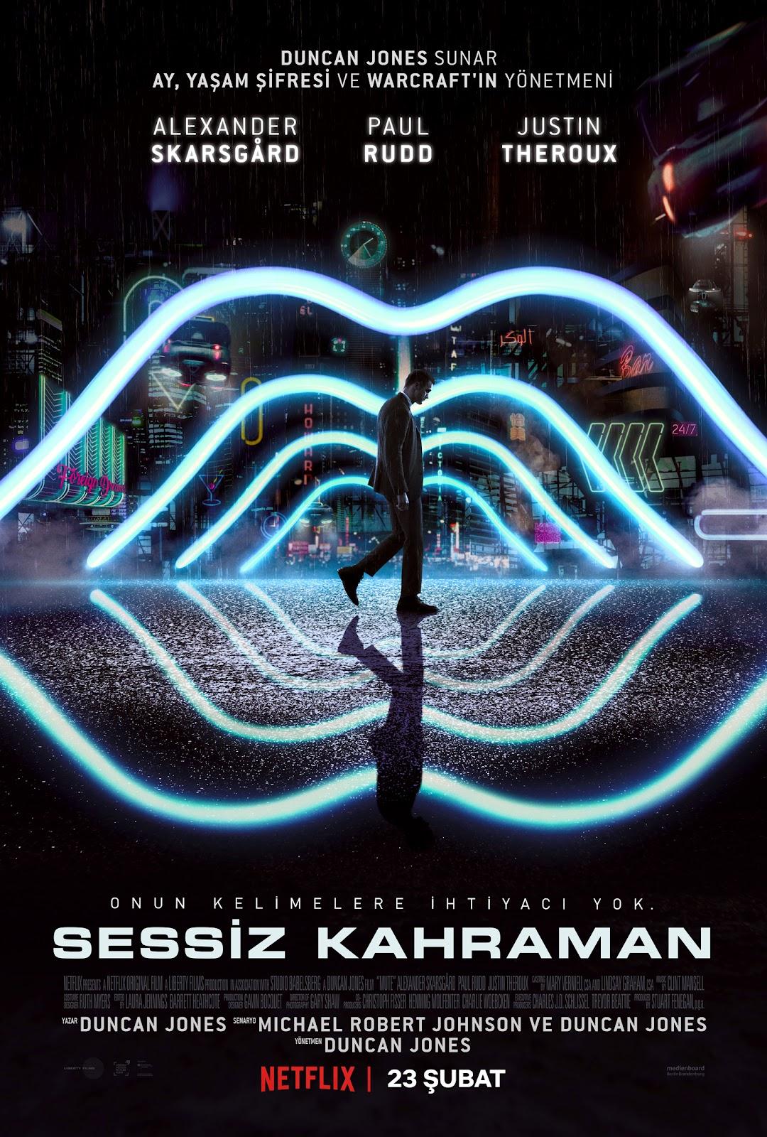Netflix platformunun Sessiz Kahraman filmi için resmi video ve afiş yayımlandı