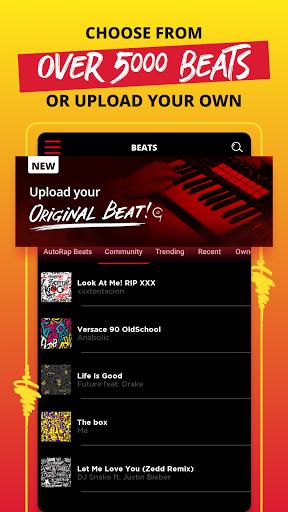 AutoRap by Smule u2013 Make Raps on Cool Beats 2.6.3 Screenshots 4