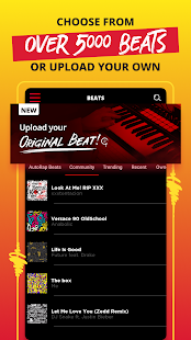 AutoRap by Smule – Make Raps on Cool Beats Screenshot