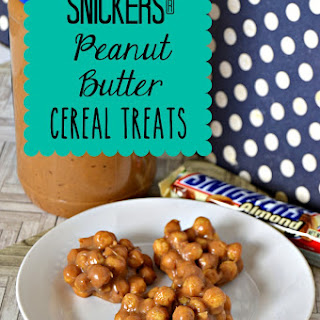 SNICKERS® Peanut Butter Cereal Treats